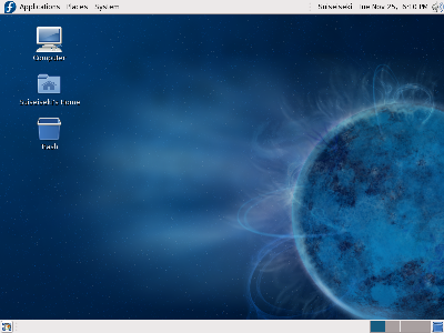 Fedora 10 Wallpaper. Ubuntu Vs. Fedora Artwork