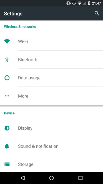 Aaron Toponce : Setting Up A Global VPN Proxy on Android